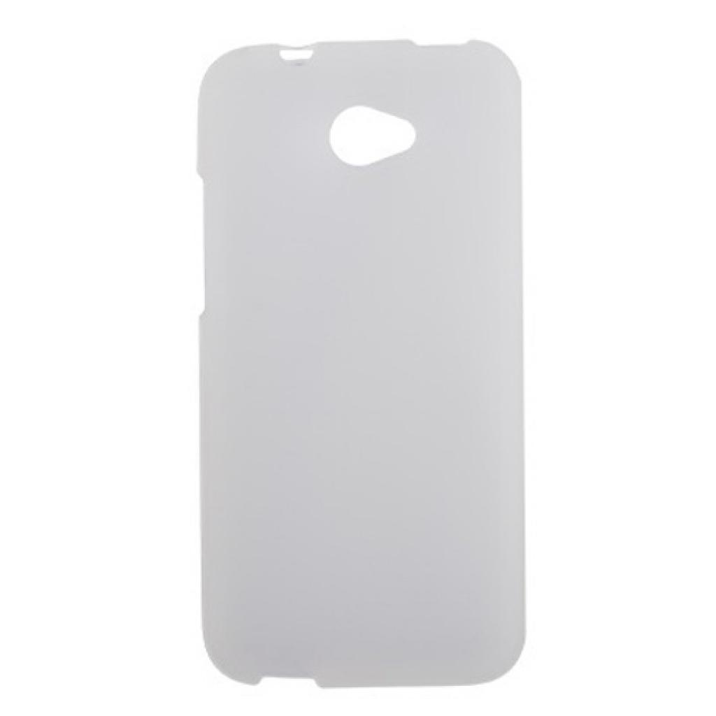Чехол для моб. телефона Drobak для HTC Desire 601 /ElasticPU/WhiteClear (218869)