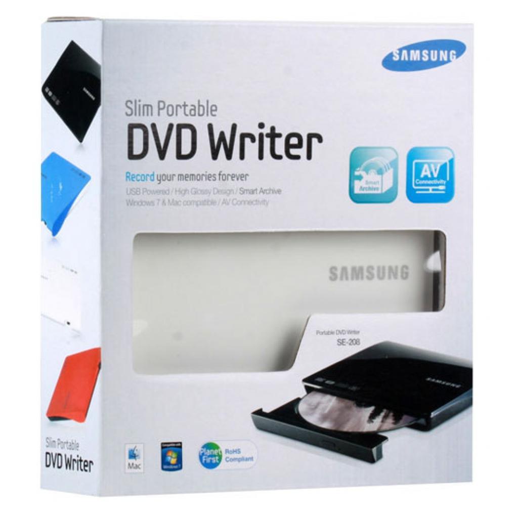 Оптический привод DVD±RW Samsung SE-208DB/TSWS изображение 7