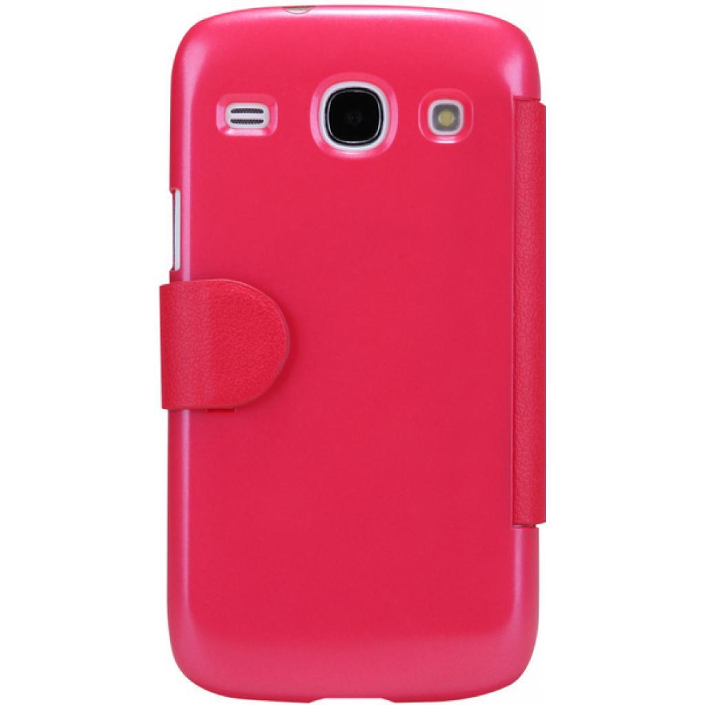 Чехол для моб. телефона NILLKIN для Samsung I8262 /Fresh/ Leather/Red (6076965) изображение 2