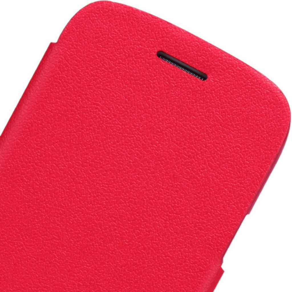 Чехол для моб. телефона NILLKIN для Samsung I8262 /Fresh/ Leather/Red (6076965) изображение 3