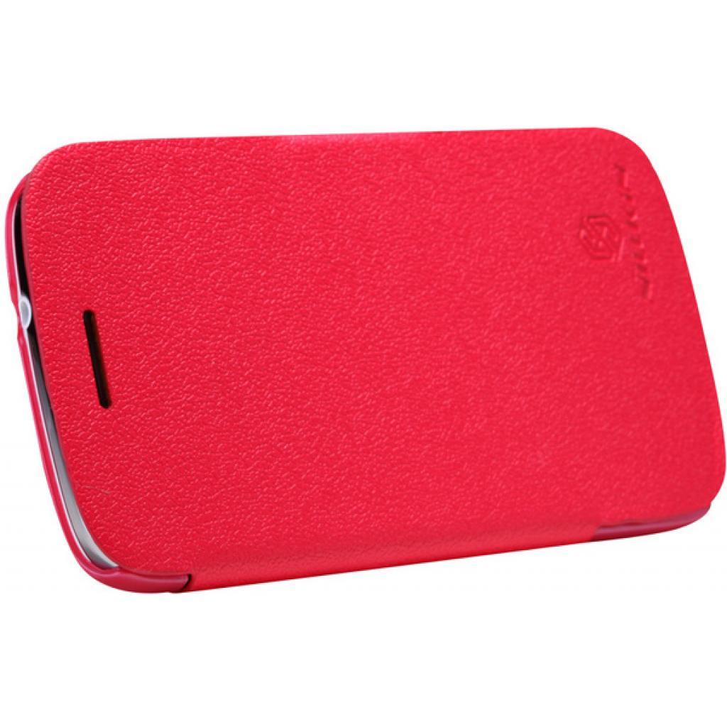 Чехол для моб. телефона NILLKIN для Samsung I8262 /Fresh/ Leather/Red (6076965) изображение 4