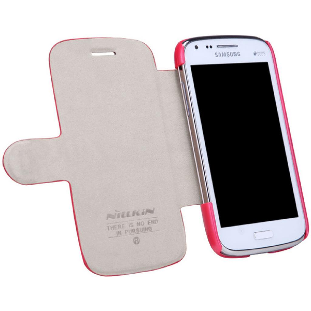 Чехол для моб. телефона NILLKIN для Samsung I8262 /Fresh/ Leather/Red (6076965) изображение 5