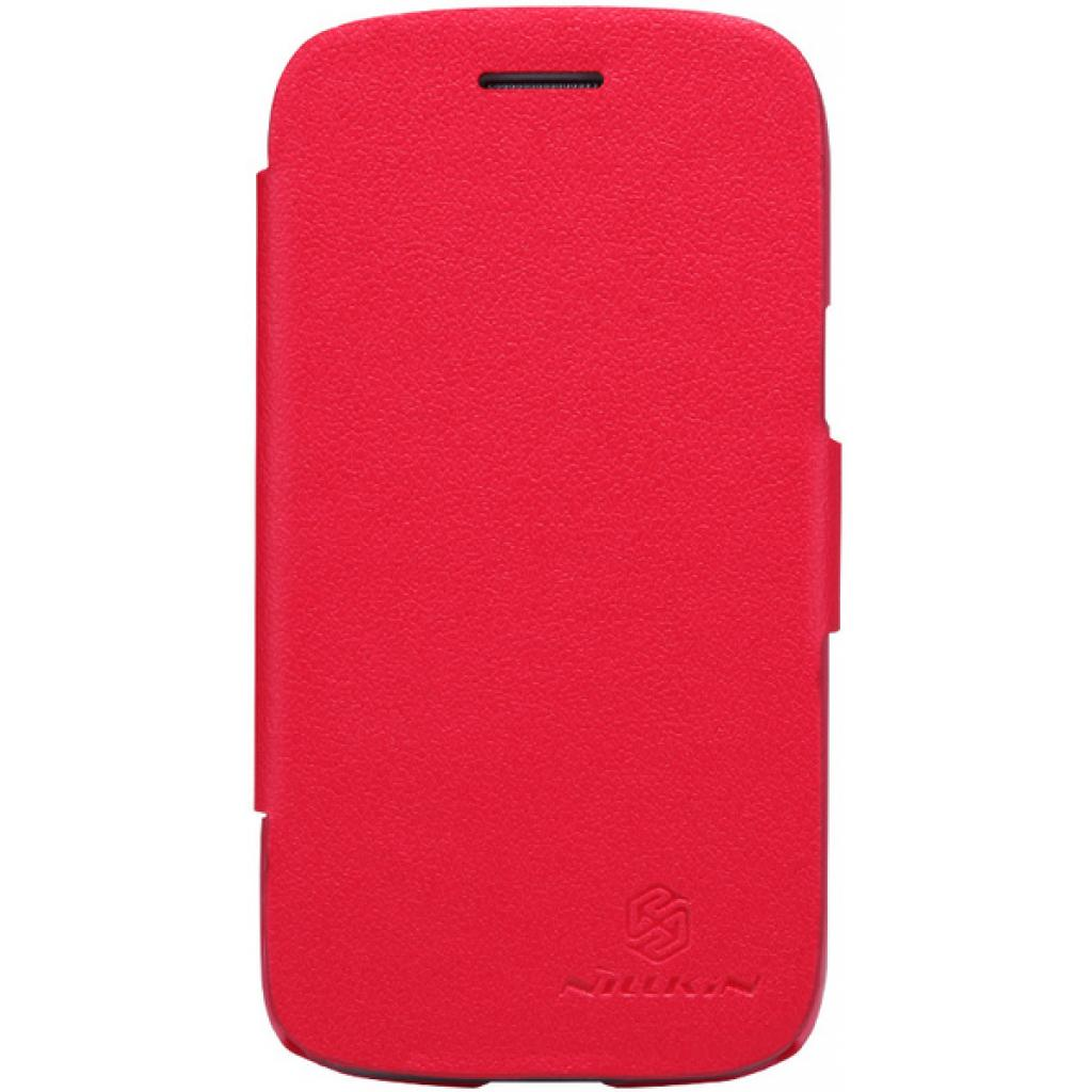 Чехол для моб. телефона NILLKIN для Samsung I8262 /Fresh/ Leather/Red (6076965)