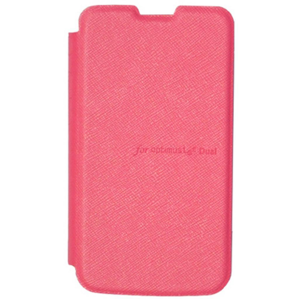 Чехол для моб. телефона VOIA для LG E455 Optimus L5II Dual /Flip/Pink (6068236)