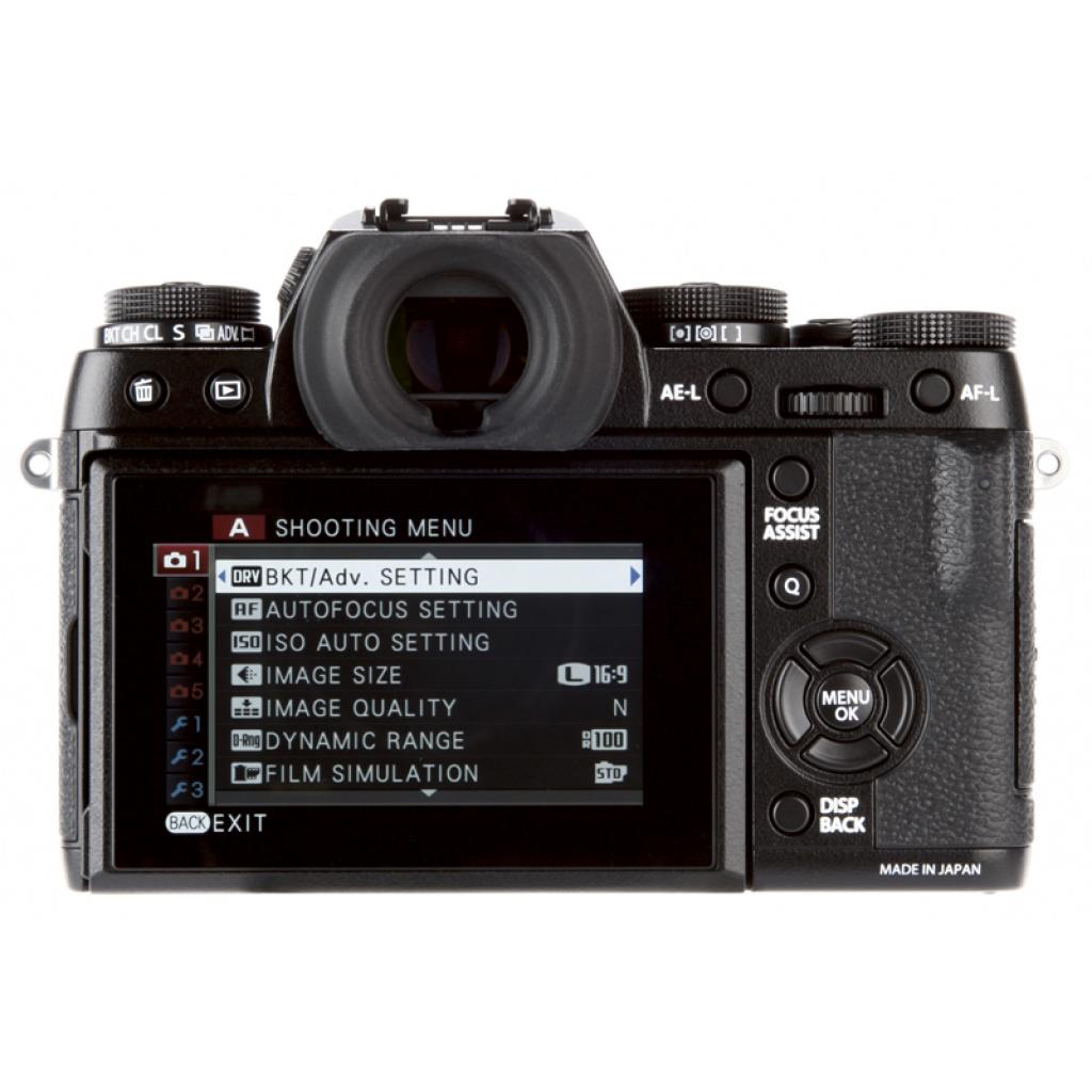 Цифровой фотоаппарат Fujifilm X-T1 body Black (16421490) изображение 2