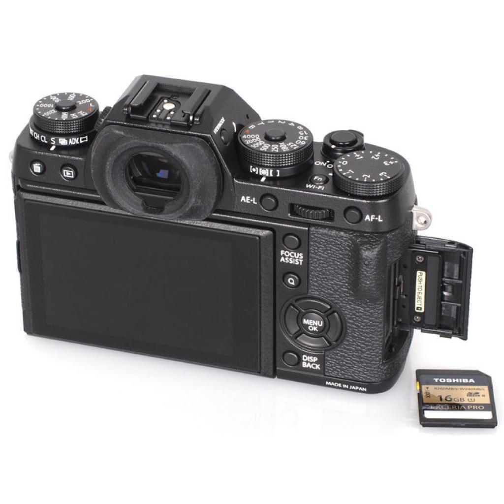 Цифровой фотоаппарат Fujifilm X-T1 body Black (16421490) изображение 9