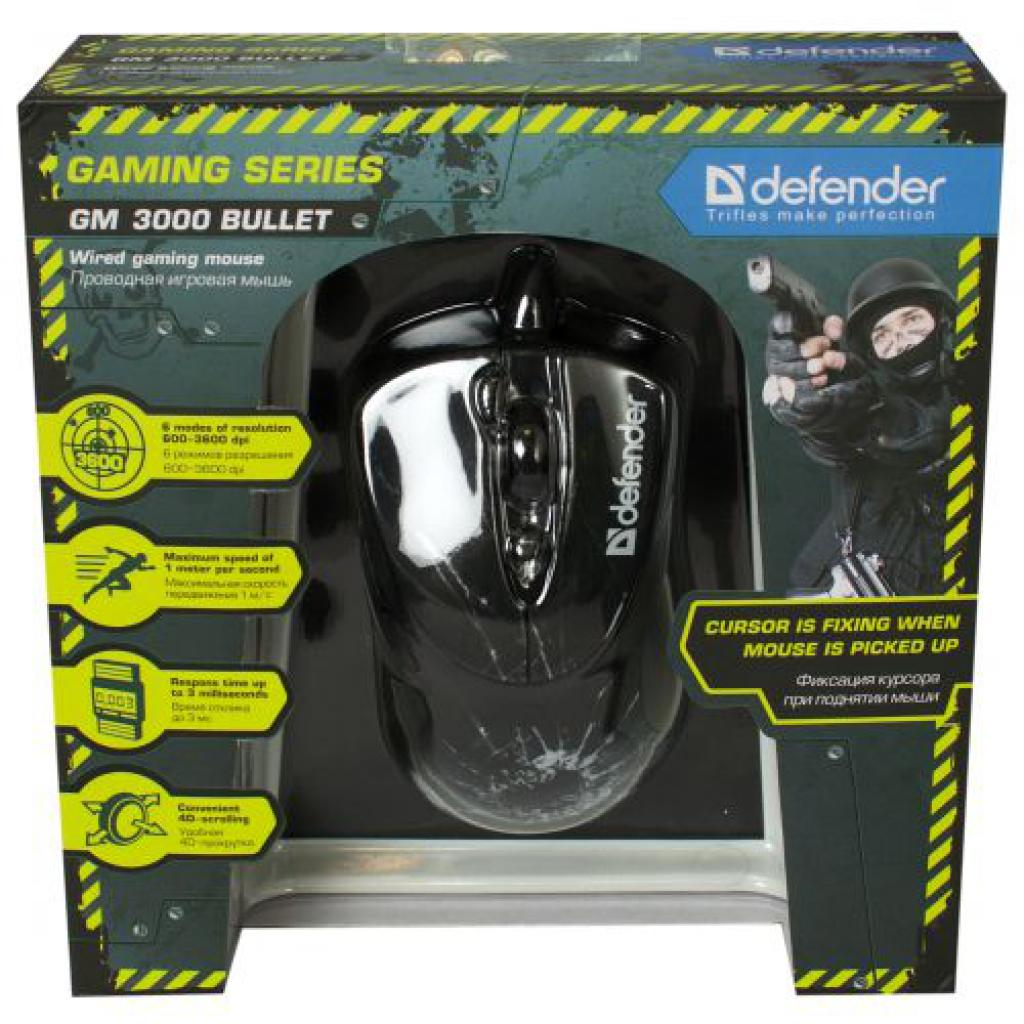 Мышка Defender GM-3000 Bullet (52730) изображение 4