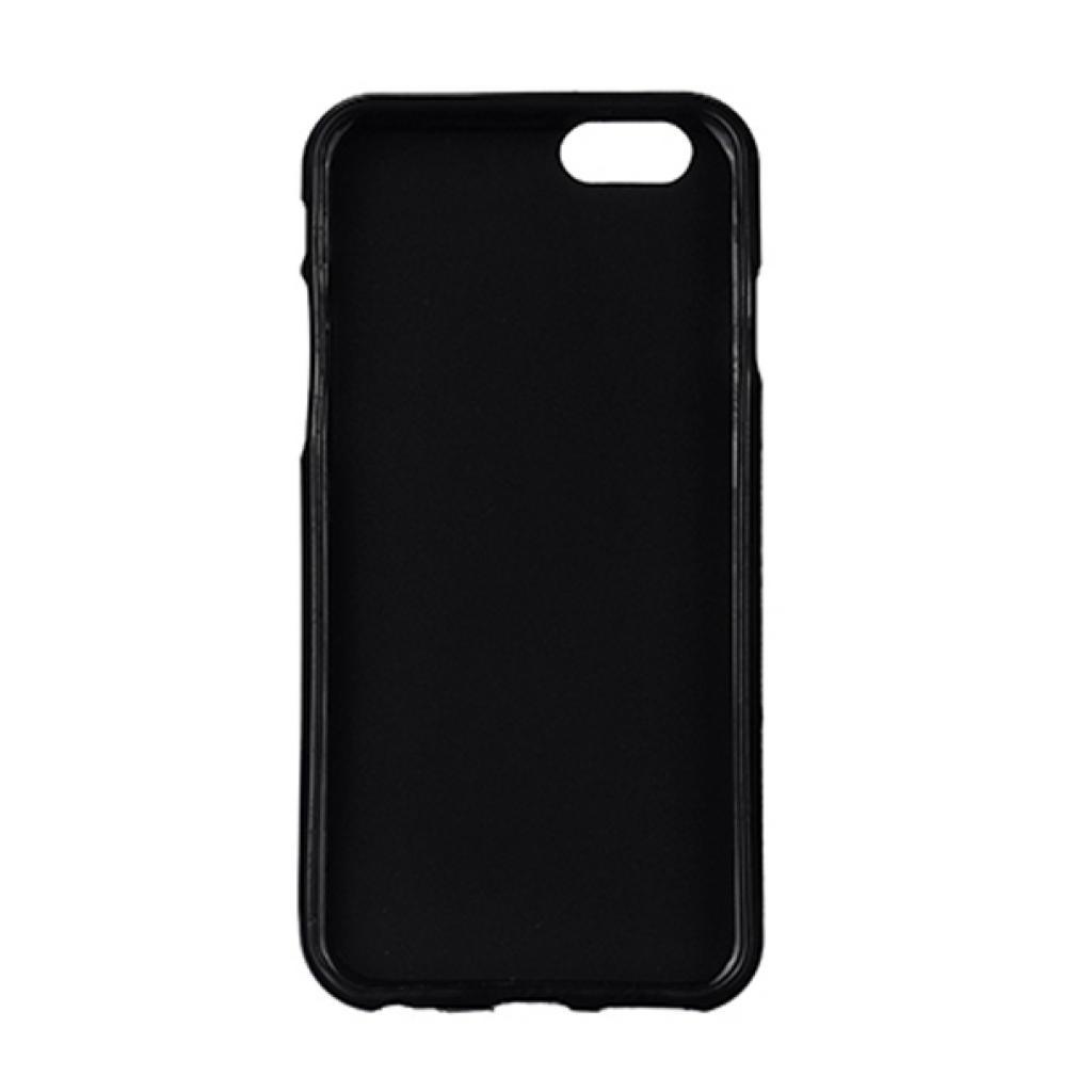 Чехол для моб. телефона Drobak для Apple Iphone 6 Black /Elastic PU/ (210286) (210286) изображение 2