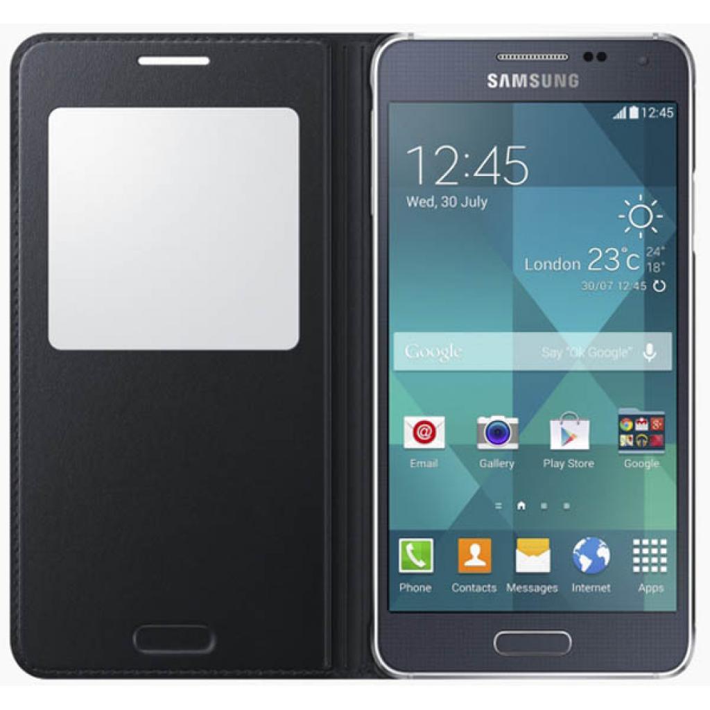 Чехол для моб. телефона Samsung Galaxy Alpha S View /Black (EF-CG850BBEGRU) изображение 3