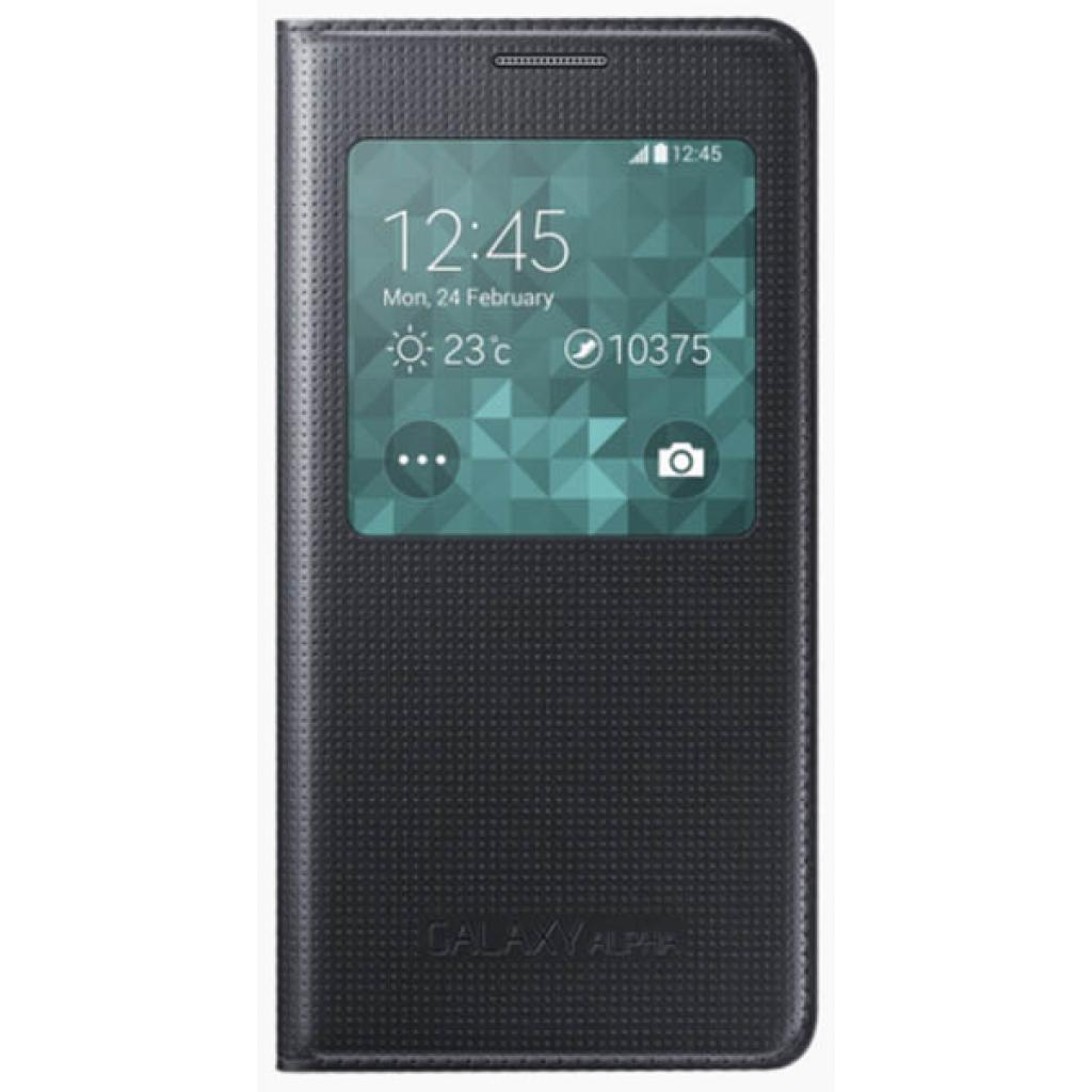 Чехол для моб. телефона Samsung Galaxy Alpha S View /Black (EF-CG850BBEGRU)