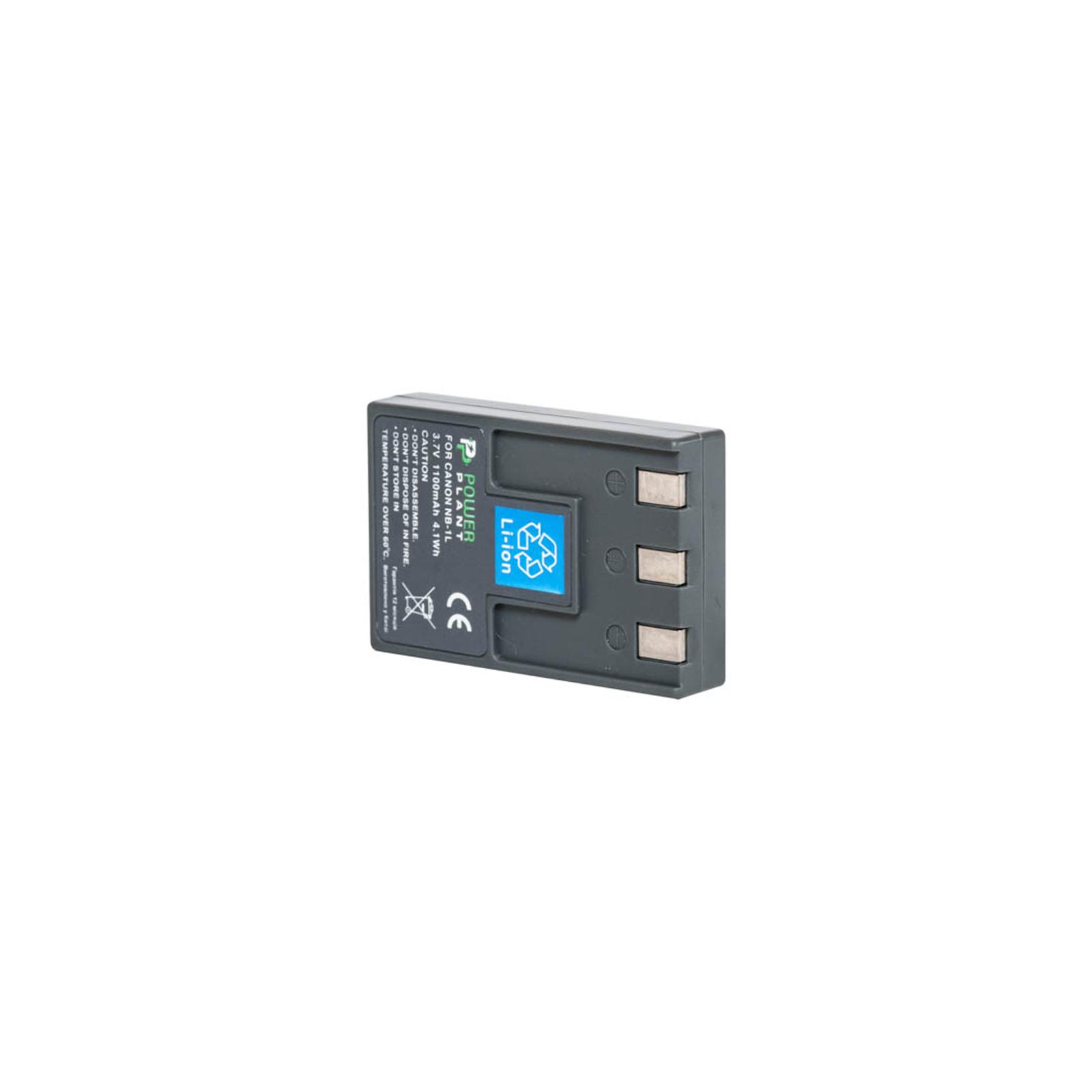 Аккумулятор к фото/видео PowerPlant Canon NB-1LH, NB-1L (DV00DV1002)