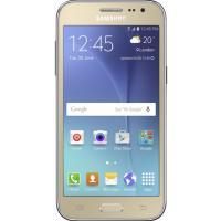 Мобильный телефон Samsung SM-J200H (Galaxy J2 Duos) Gold (SM-J200HZDDSEK)