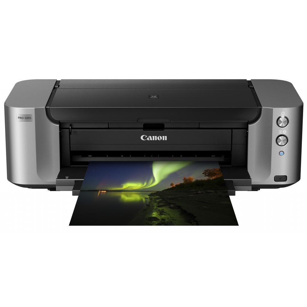 Струйный принтер Canon PIXMA PRO-100s c Wi-Fi (9984B009) изображение 3