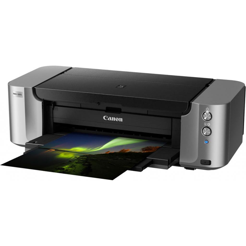 Струйный принтер Canon PIXMA PRO-100s c Wi-Fi (9984B009) изображение 4