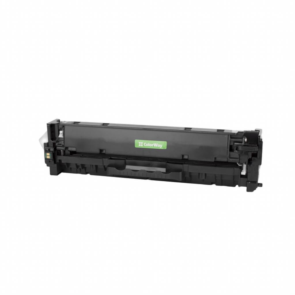 Картридж ColorWay для CANON 718 (HP СС530A) black LBP-7200/MF-8330/8350 (CW-C718BKM) изображение 2
