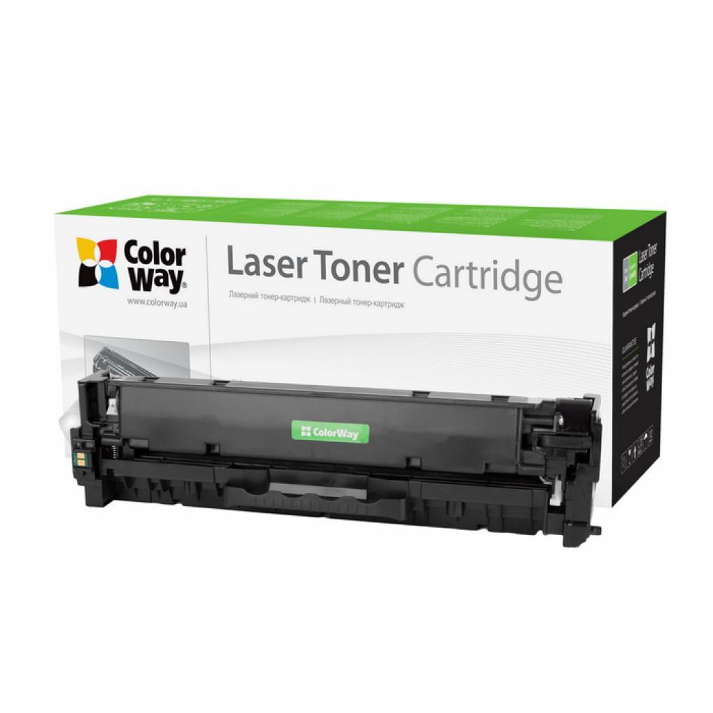 Картридж ColorWay для CANON 718 (HP СС530A) black LBP-7200/MF-8330/8350 (CW-C718BKM)
