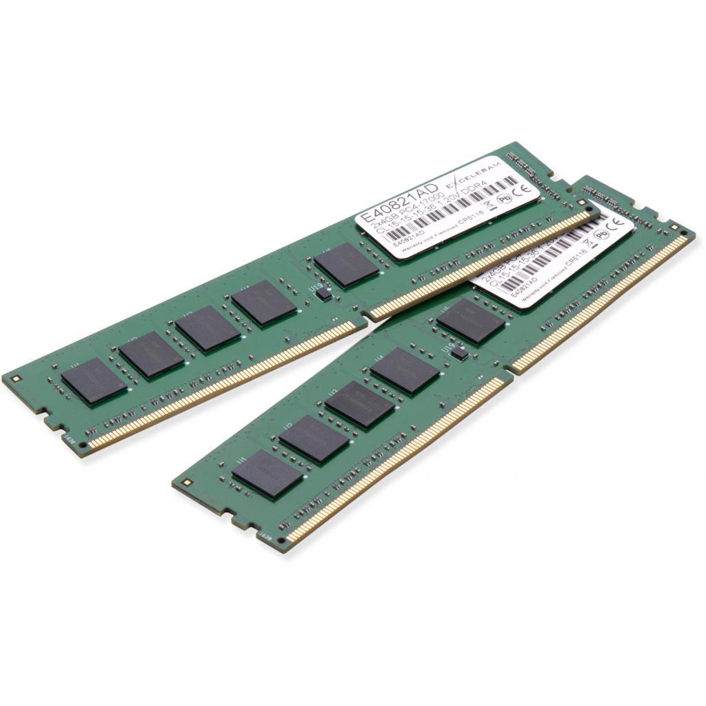 Модуль памяти для компьютера DDR4 8GB (2x4GB) 2133 MHz eXceleram (E40821AD)
