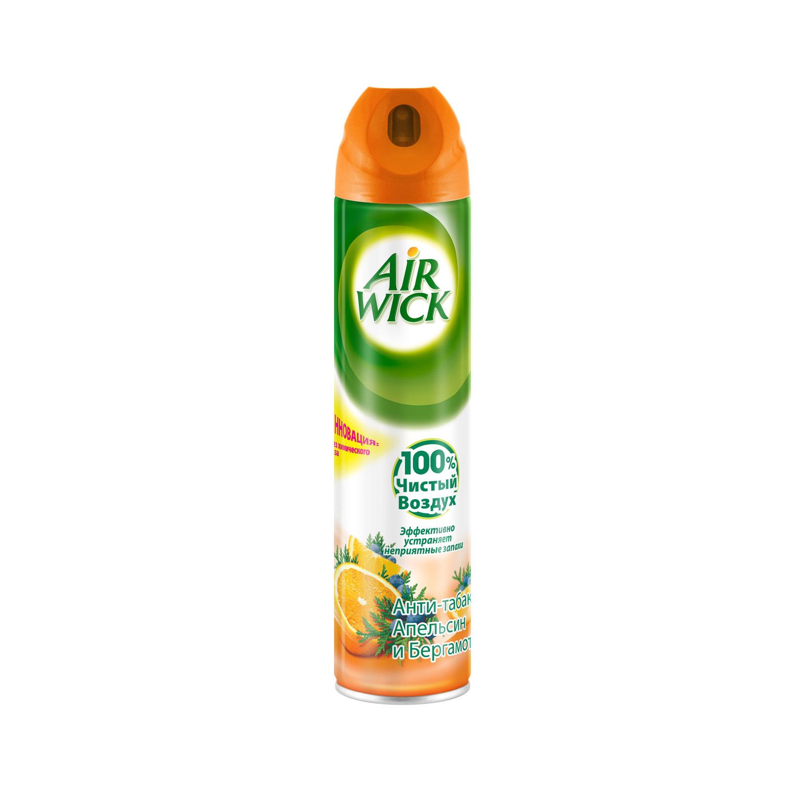 Освежитель воздуха Air Wick Апельсин и Бергамот 240 мл (3059943016576)