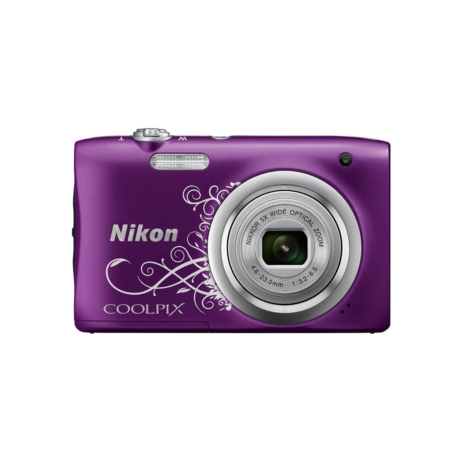 Цифровой фотоаппарат Nikon Coolpix A100 Purple Lineart (VNA974E1) изображение 2