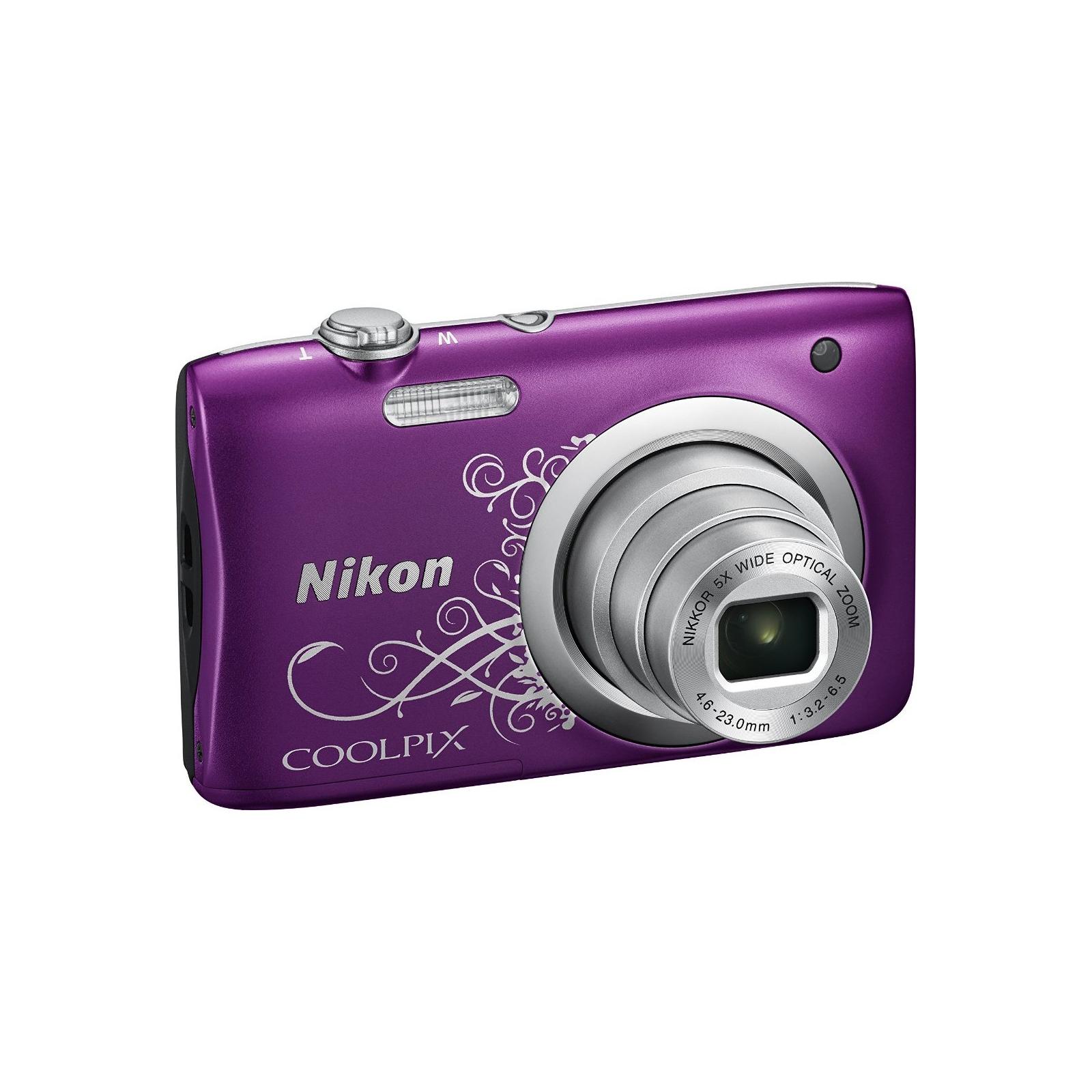Цифровой фотоаппарат Nikon Coolpix A100 Purple Lineart (VNA974E1) изображение 3