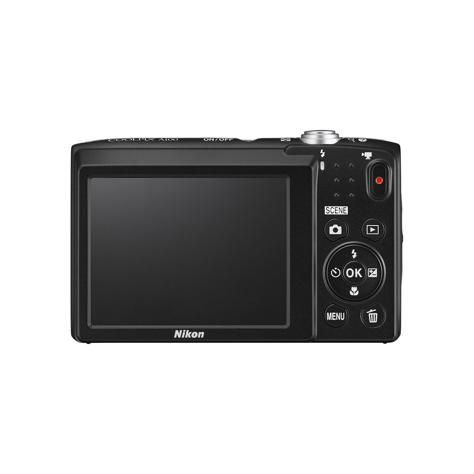Цифровой фотоаппарат Nikon Coolpix A100 Purple Lineart (VNA974E1) изображение 4