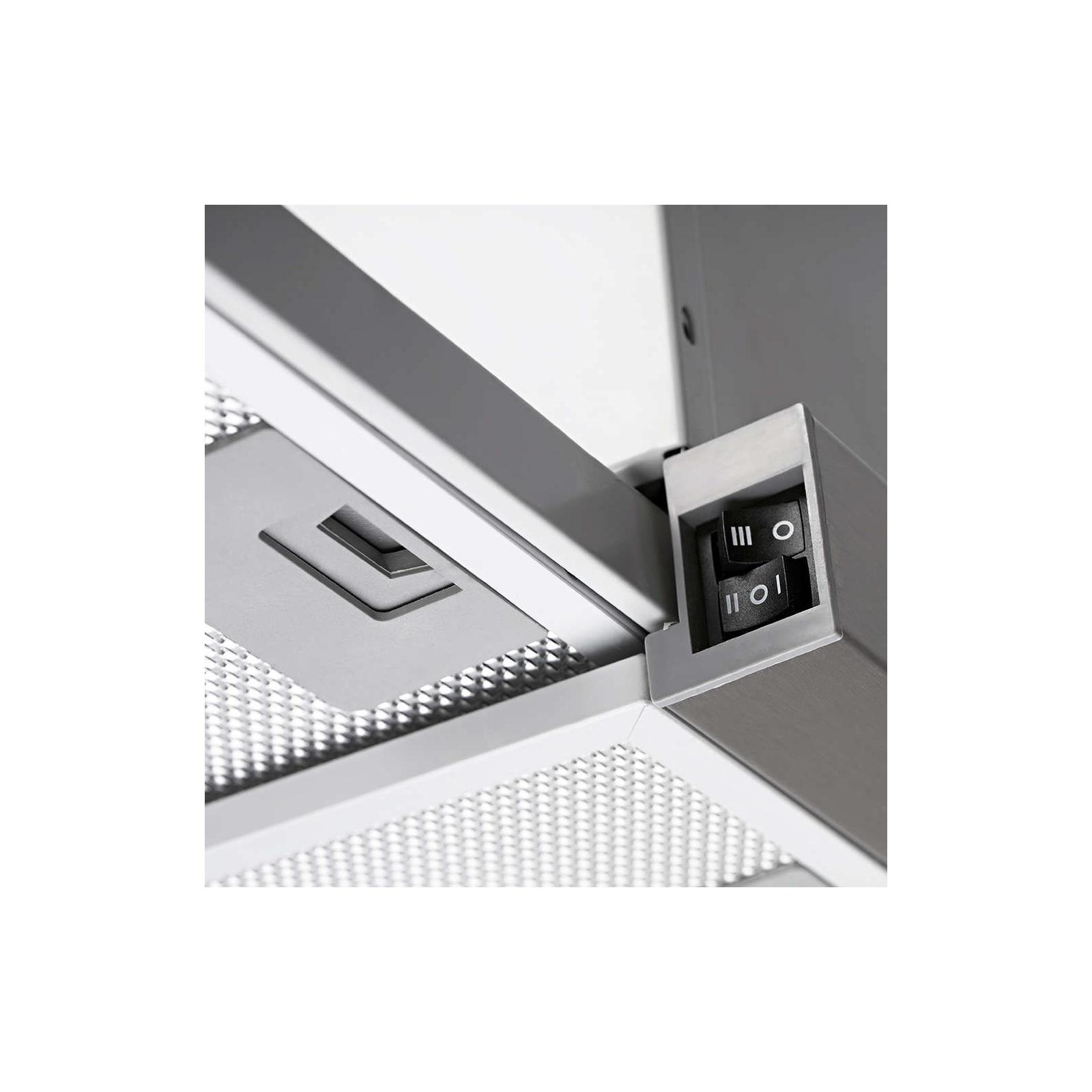 Вытяжка кухонная PYRAMIDA TL FULL GLASS 60 (1100) INOX BL/U изображение 4