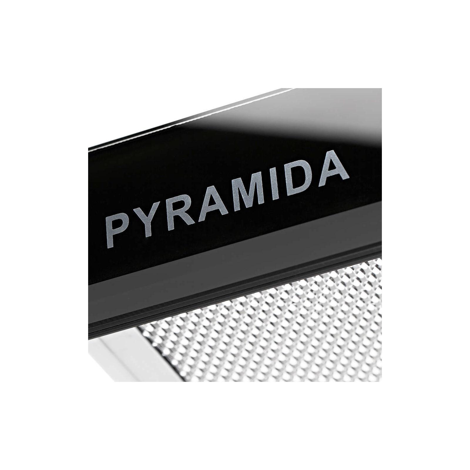 Вытяжка кухонная PYRAMIDA TL FULL GLASS 60 (1100) INOX BL/U изображение 7
