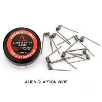 Проволока для спирали Rofvape Prebuild Coils Alien Wire 0.45 Ом (10pcs) (PVPCAW)