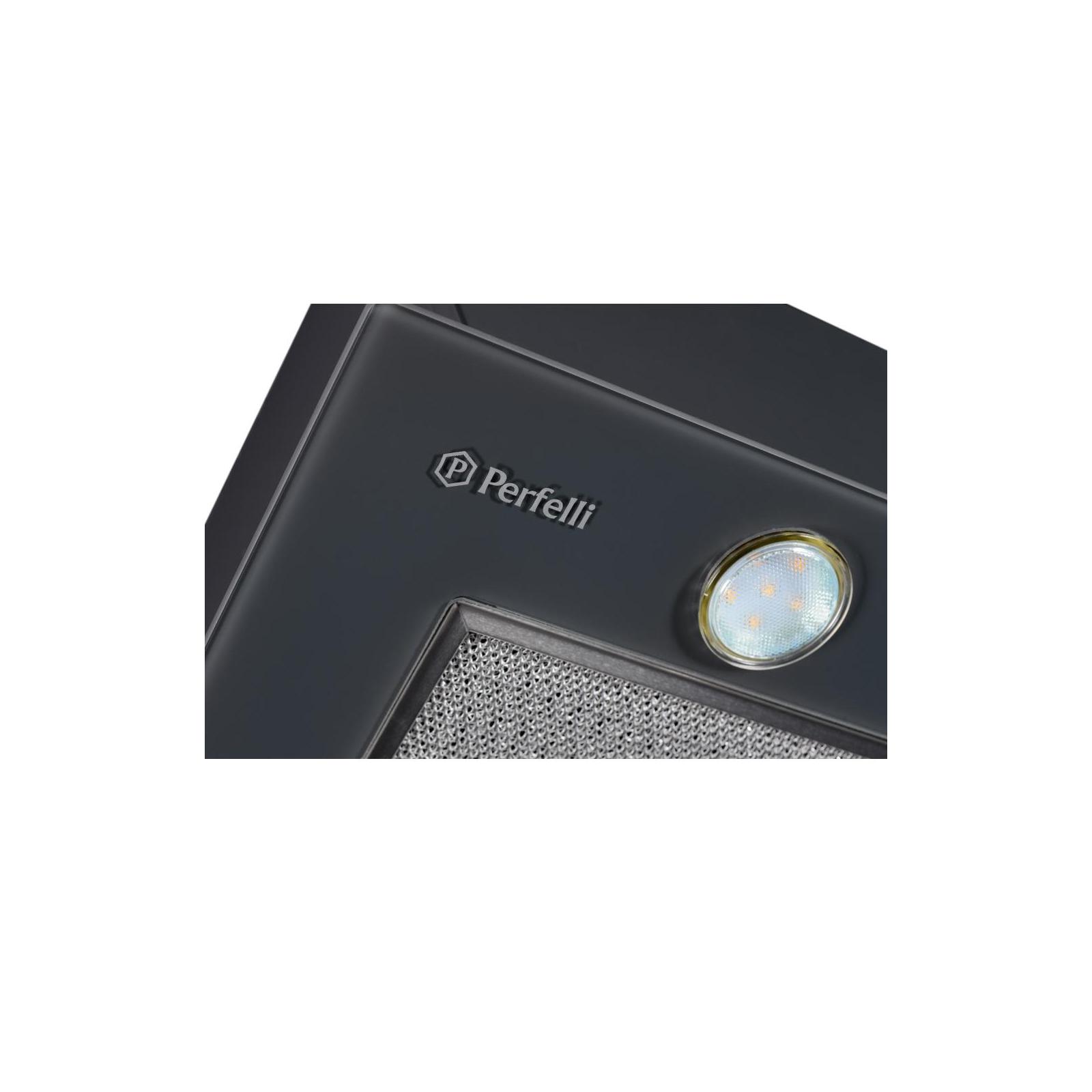 Вытяжка кухонная PERFELLI BI 6562 A 1000 GF LED GLASS изображение 5