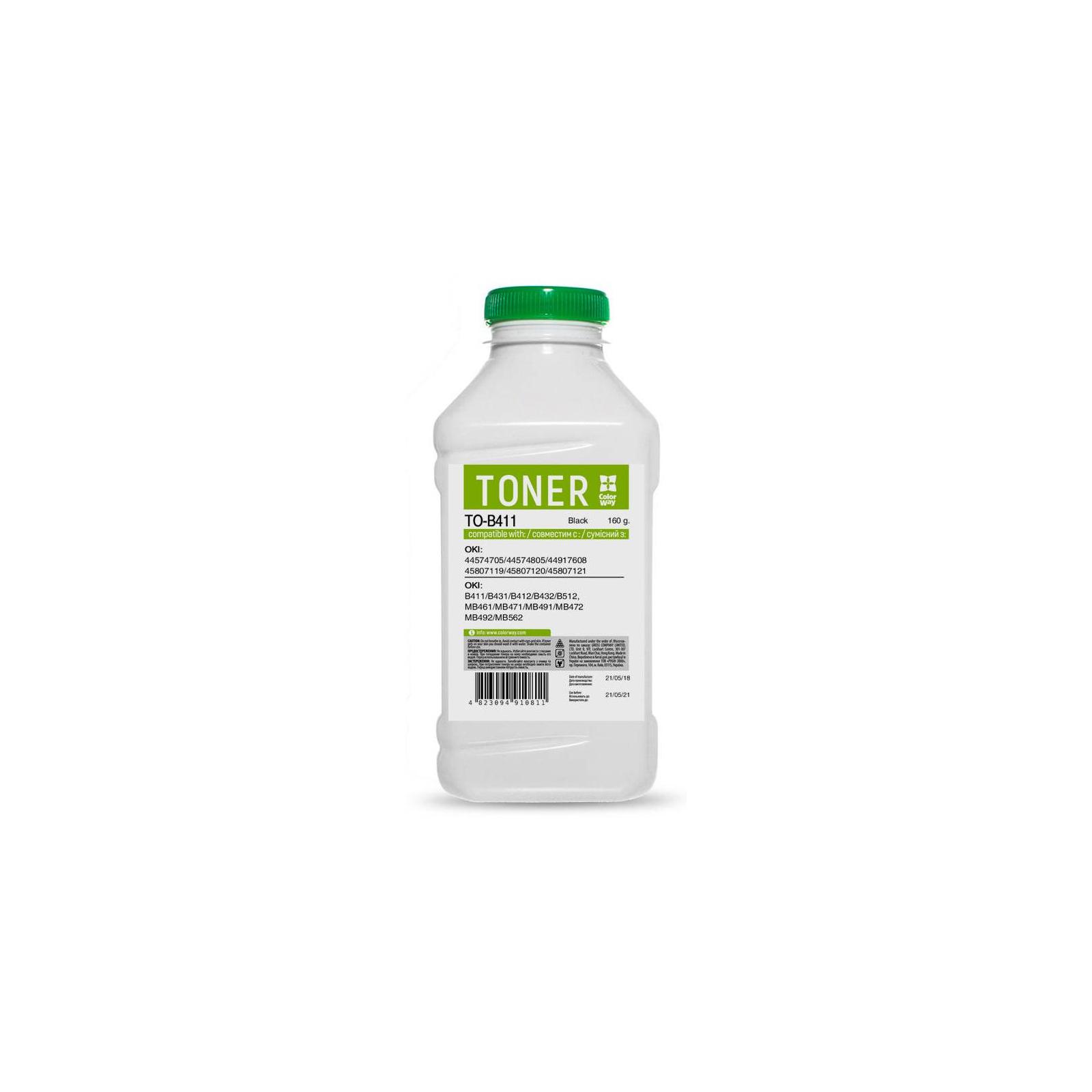 Тонер OKI B411/B431 160g ColorWay (TO-B411)