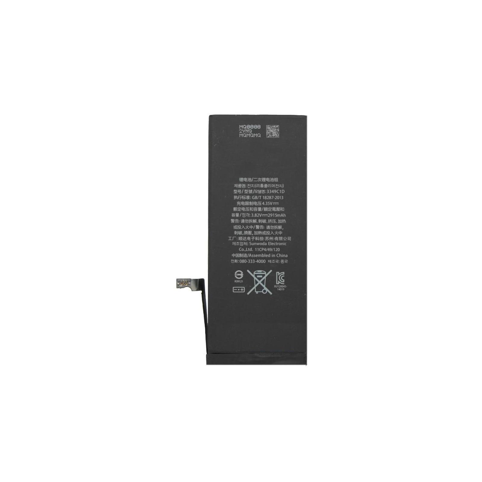 Аккумуляторная батарея Apple for iPhone 6 (1800 mAh) (iPhone 6 / 55133) изображение 2