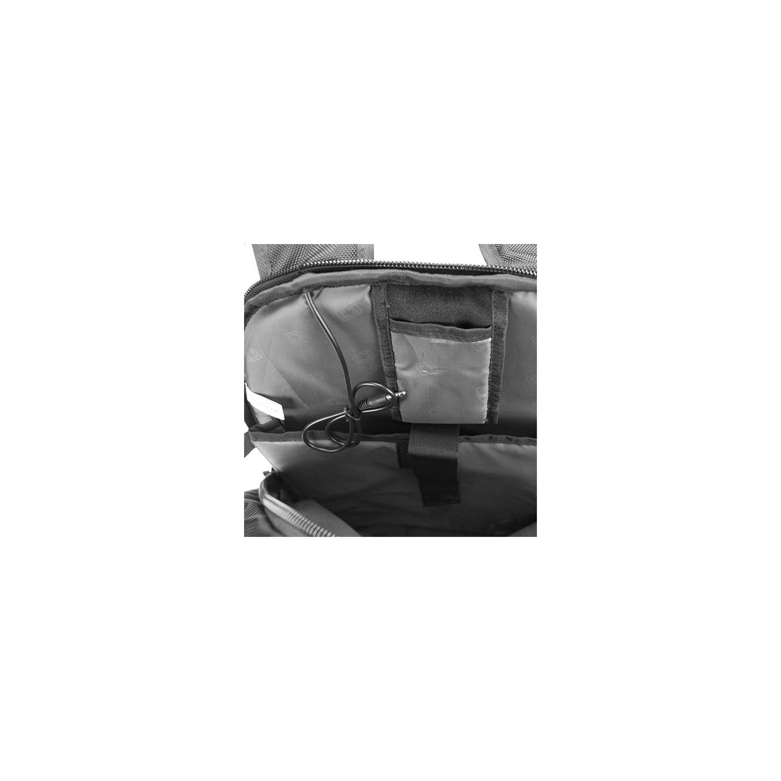Рюкзак для ноутбука Continent 16'' BP-302 BK (BP-302BK) изображение 6