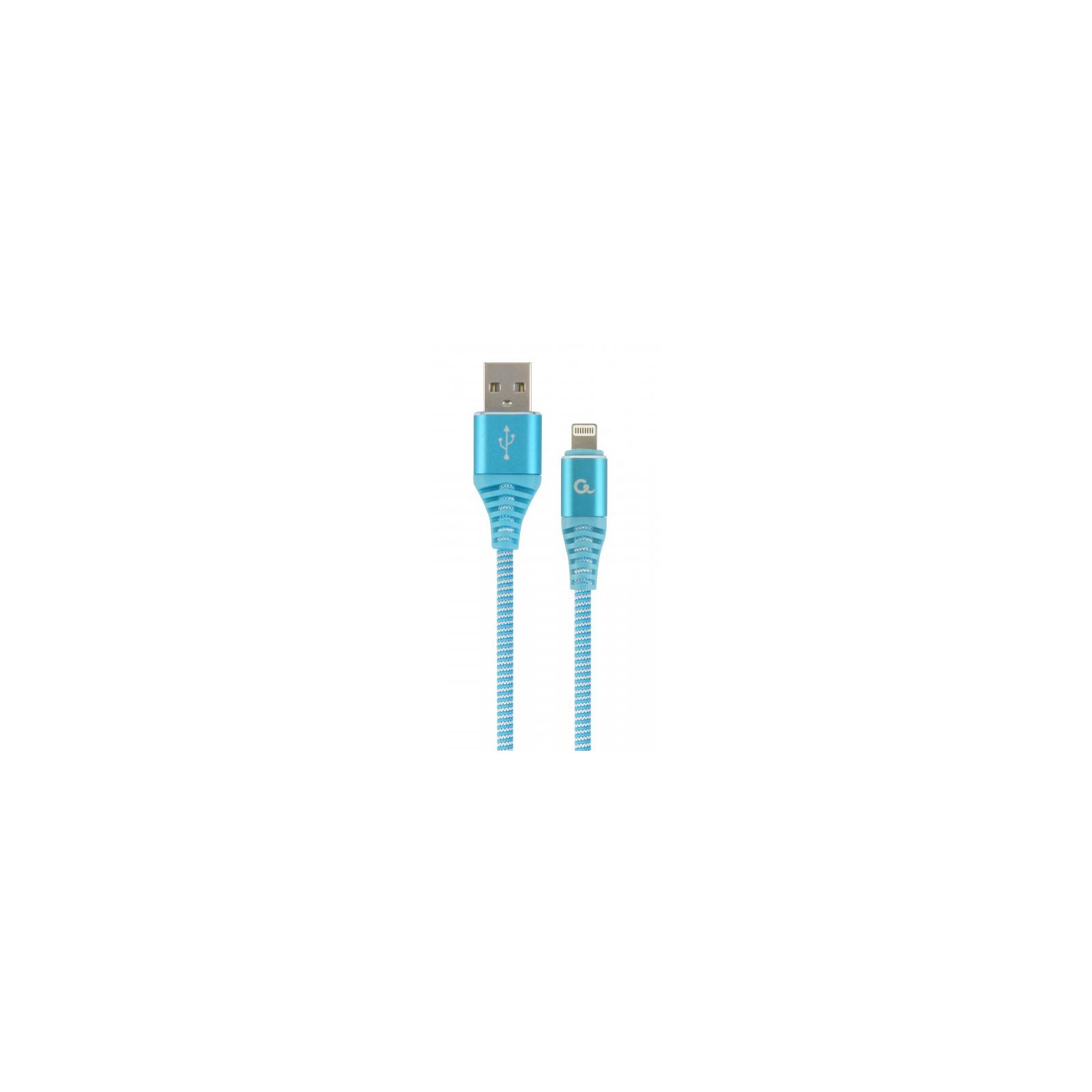 Дата кабель USB 2.0 AM to Lightning 2.0m Cablexpert (CC-USB2B-AMLM-2M-PW)