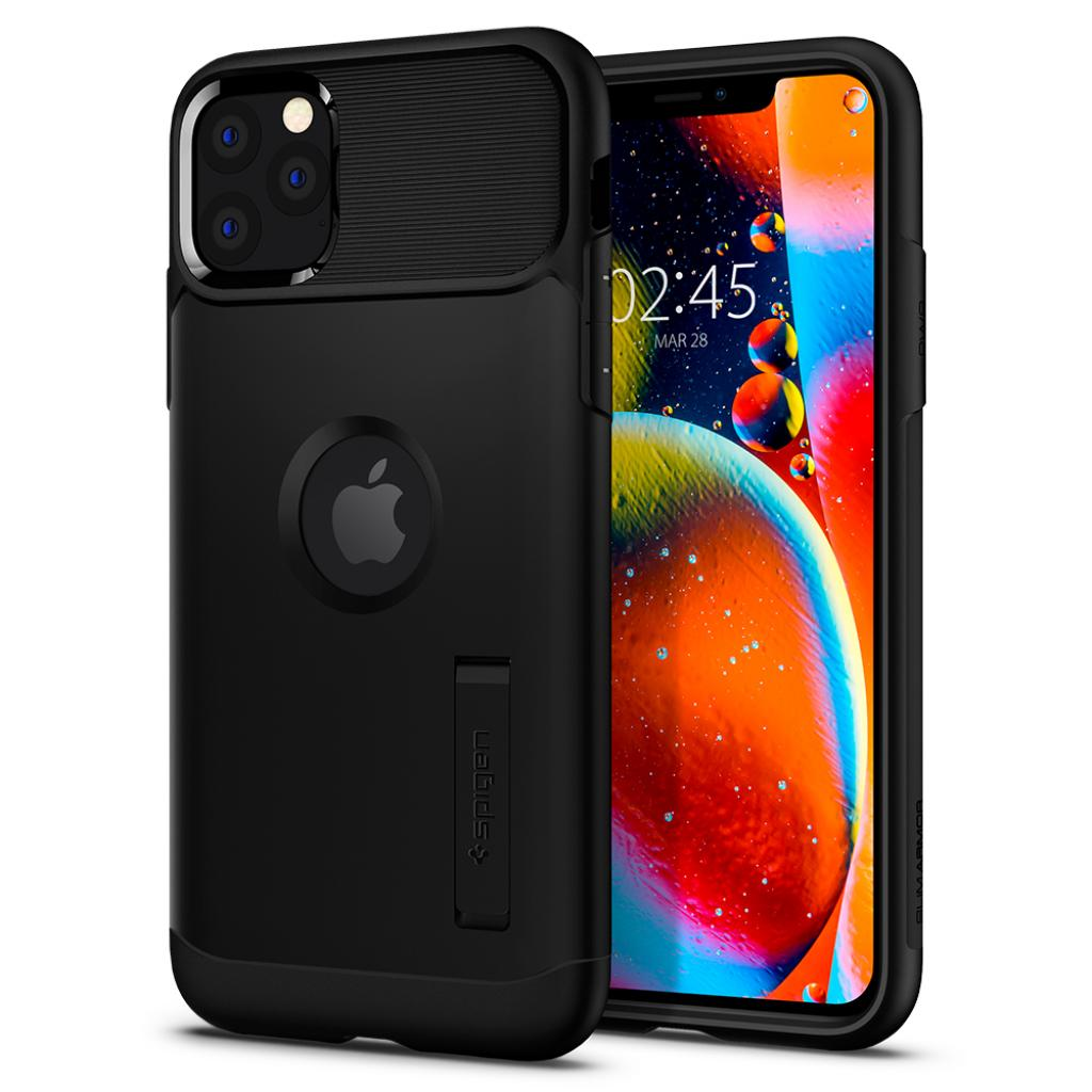 Чехол для моб. телефона Spigen iPhone 11 Pro Slim Armor, Black (077CS27099) изображение 2