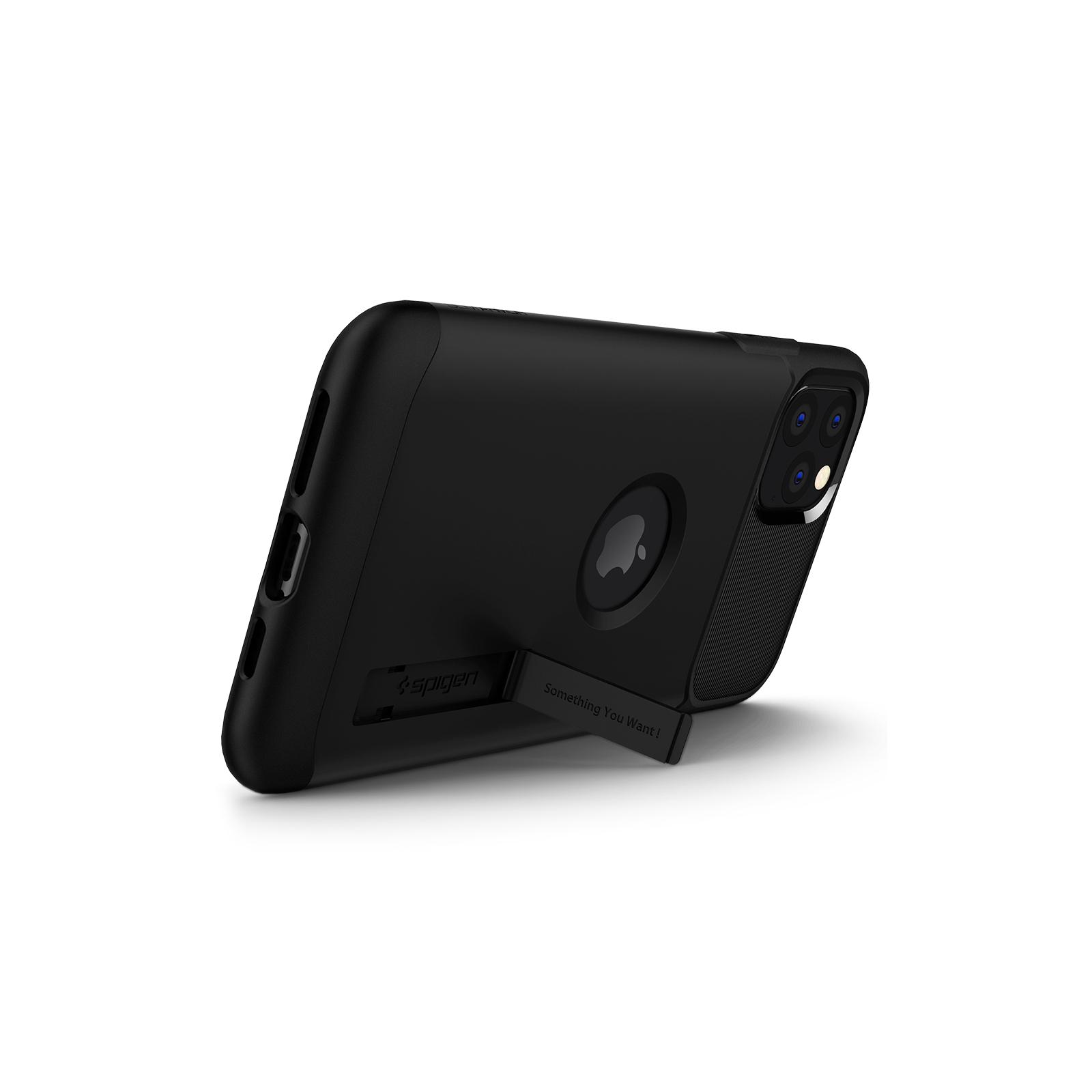 Чехол для моб. телефона Spigen iPhone 11 Pro Slim Armor, Black (077CS27099) изображение 6