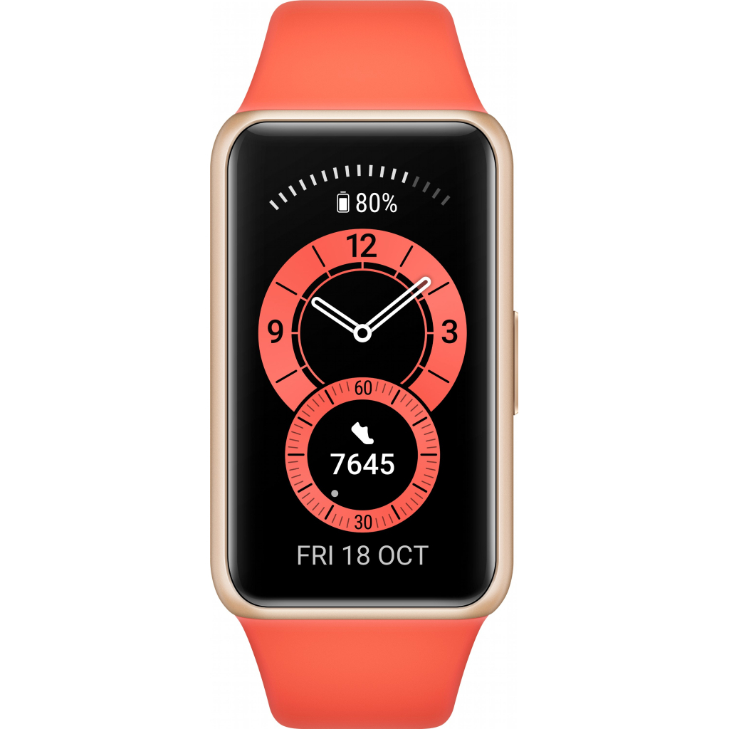 Смарт-годинник Huawei Band 6 Amber Sunrise (55026630) зображення 2