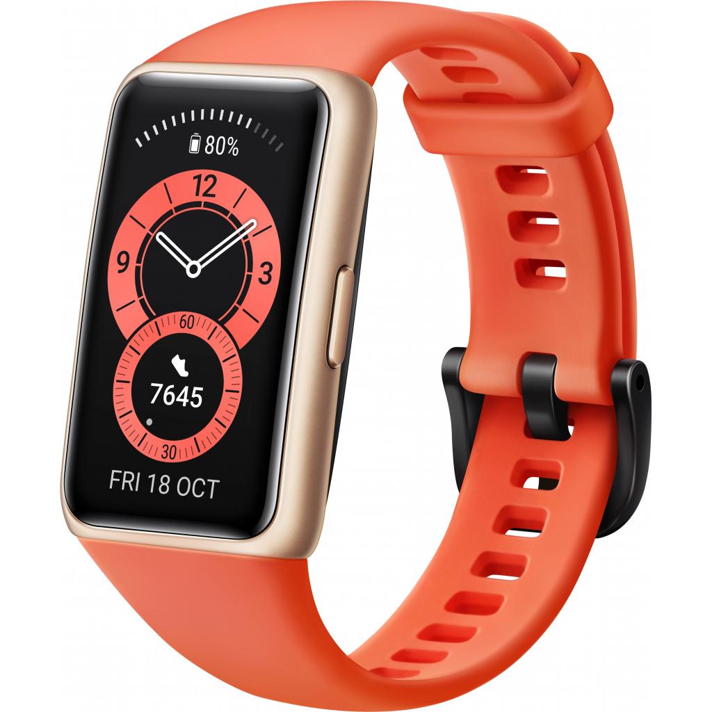Смарт-годинник Huawei Band 6 Amber Sunrise (55026630) зображення 3