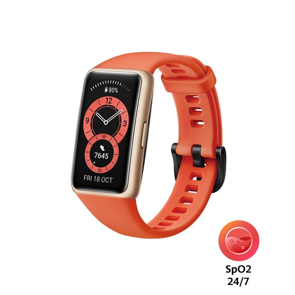 Смарт-годинник Huawei Band 6 Amber Sunrise (55026630)