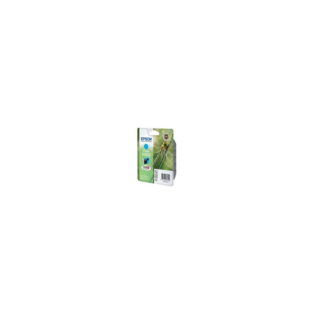 Картридж EPSON R270/290 RX590/610/690 Cyan (C13T08224A/C13T11224A10)