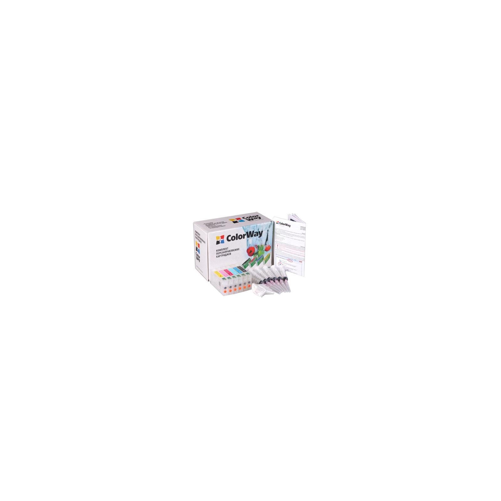 Комплект перезаправляемых картриджей ColorWay Epson RX700 (без чрнил) (RX700RC-0.0)