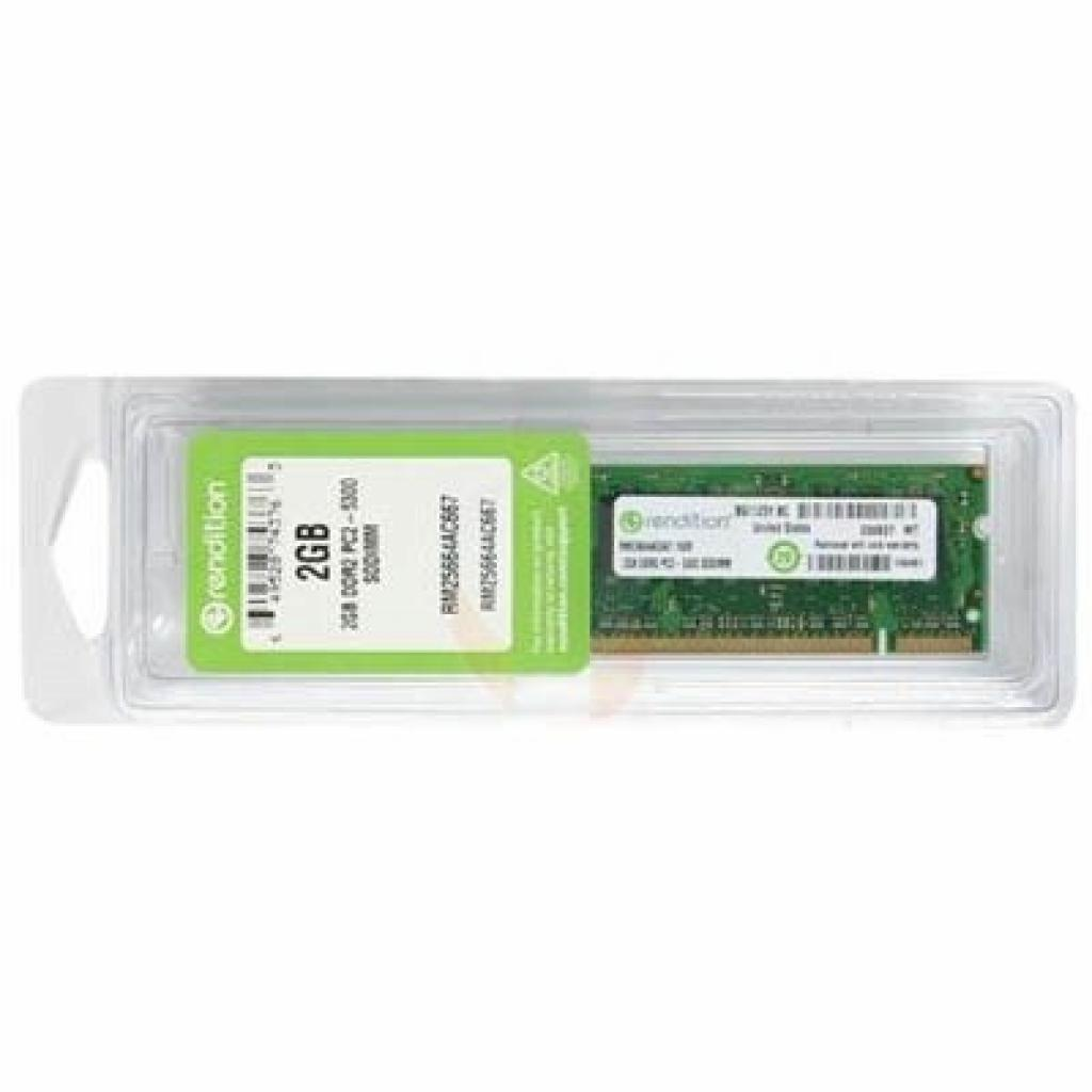 Модуль памяти для ноутбука SoDIMM DDR2 2GB 667 MHz MICRON (RM25664AC667)