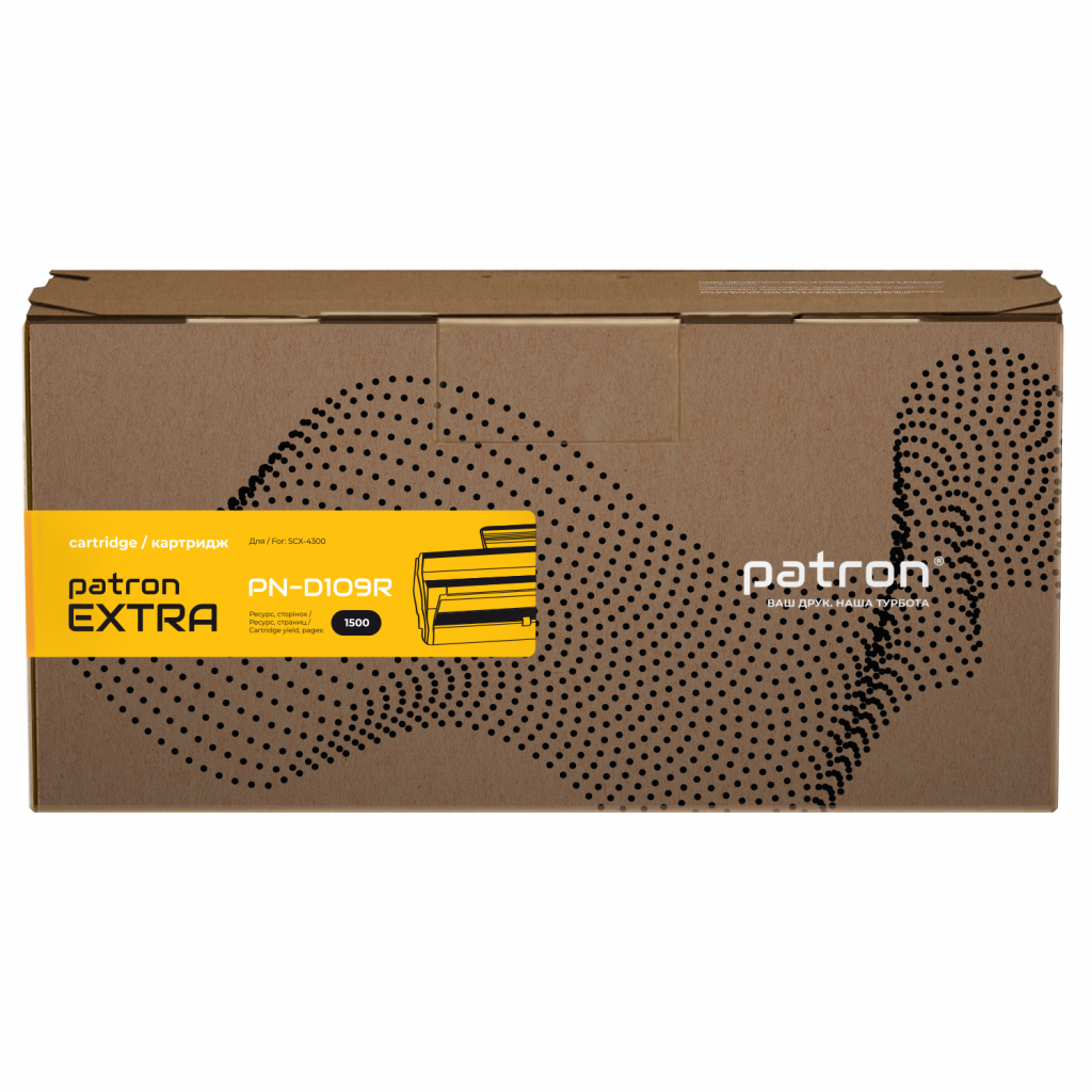 Картридж PATRON SAMSUNG SCX-4300(MLT-D109S) Extra (PN-D109R)