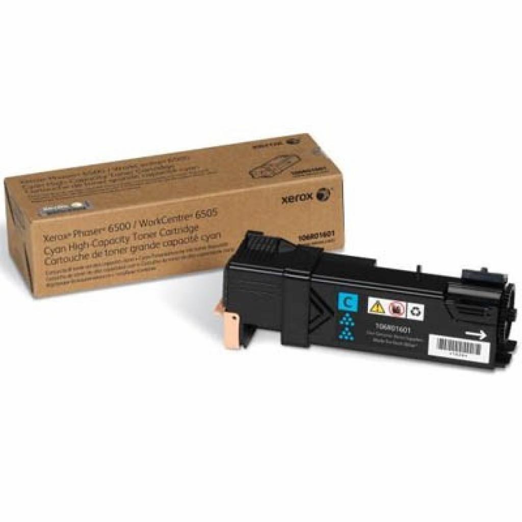 Тонер-картридж XEROX PH6500/WC6505 (Max) Cyan (106R01601)