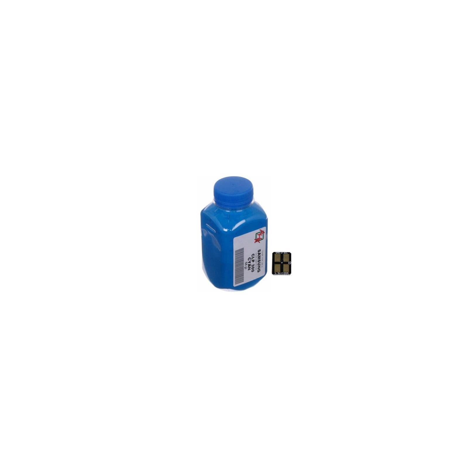 Тонер SAMSUNG CLP-320/325 Cyan+chip AHK (1500222)