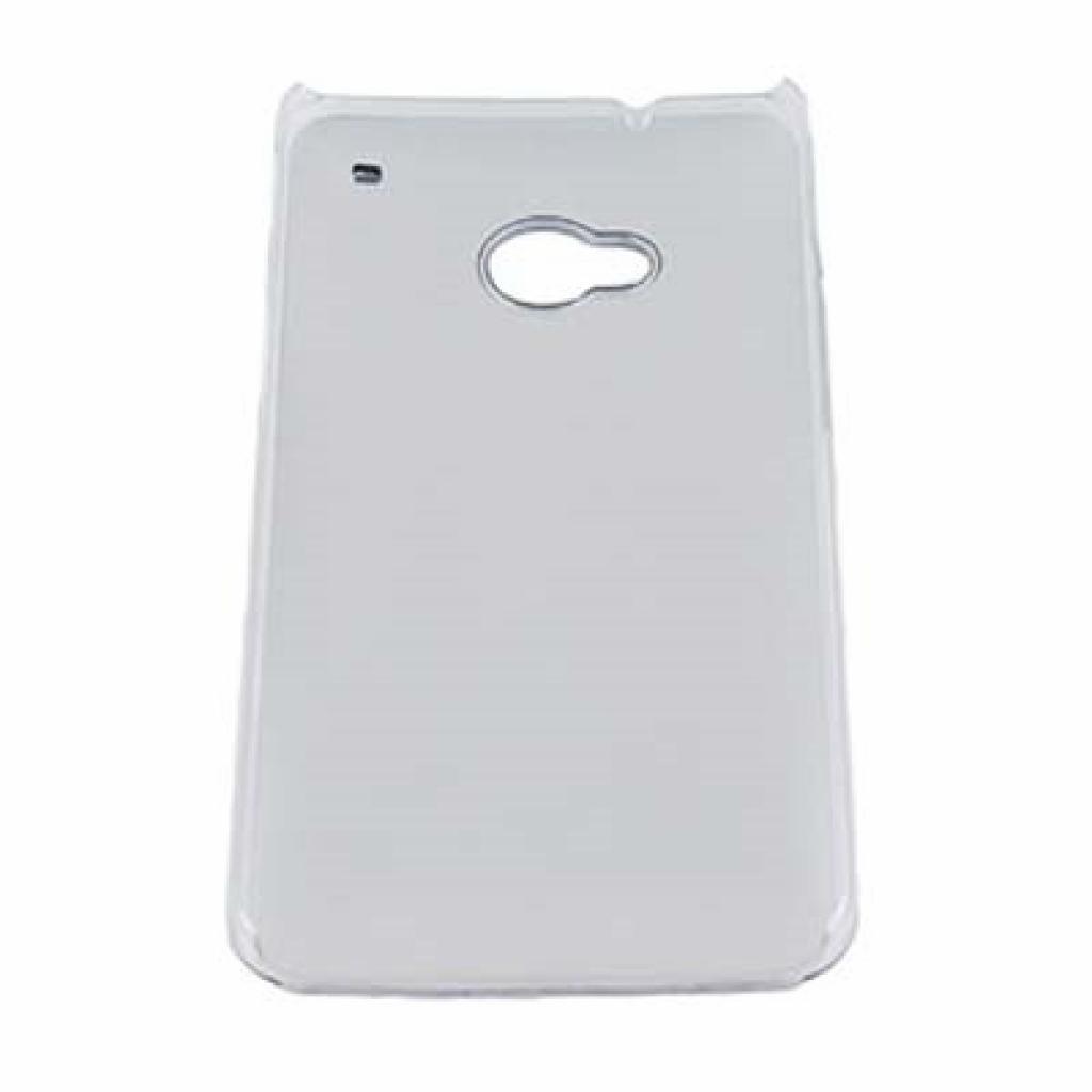 Чехол для моб. телефона Drobak для HTC One /Aluminium Panel/Silver (218809) изображение 2