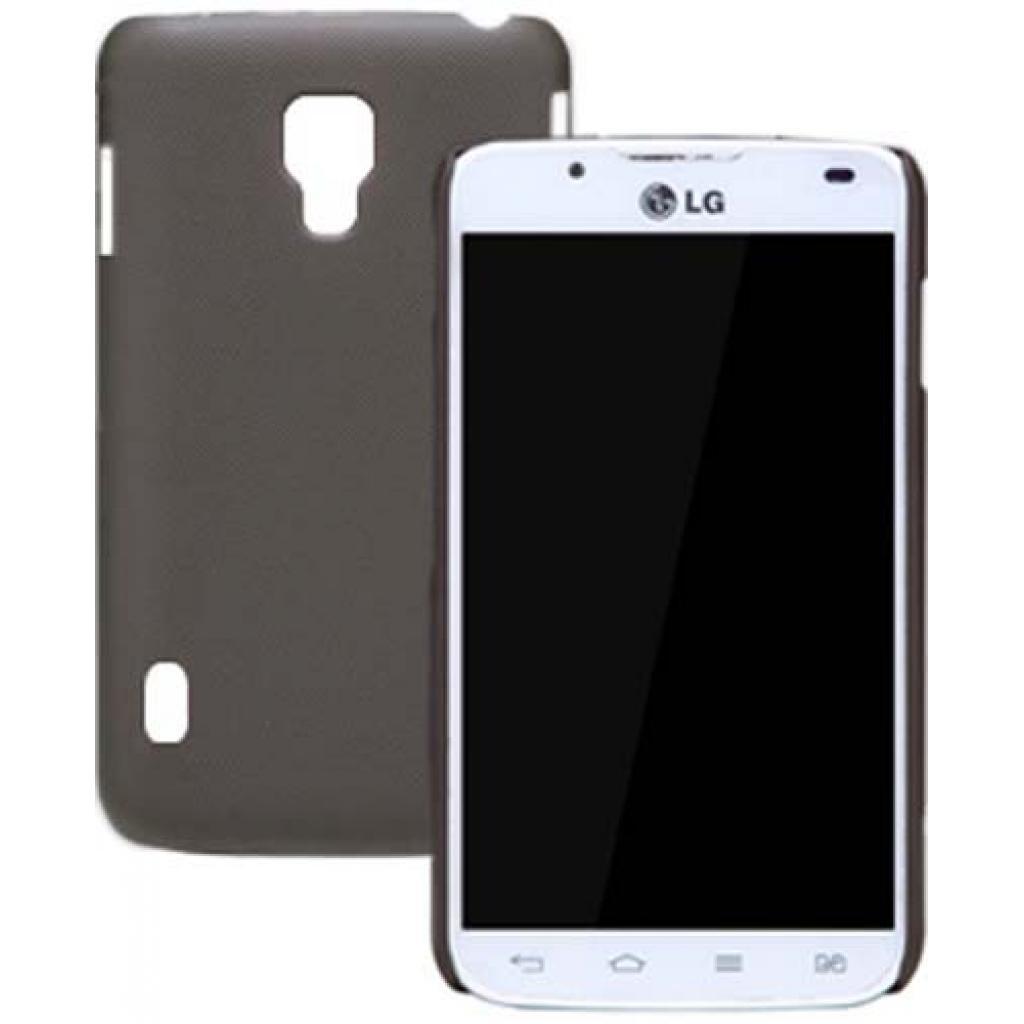 Чехол для моб. телефона NILLKIN для LG P715 L7II Duos /Super Frosted Shield/Brown (6065756) изображение 2