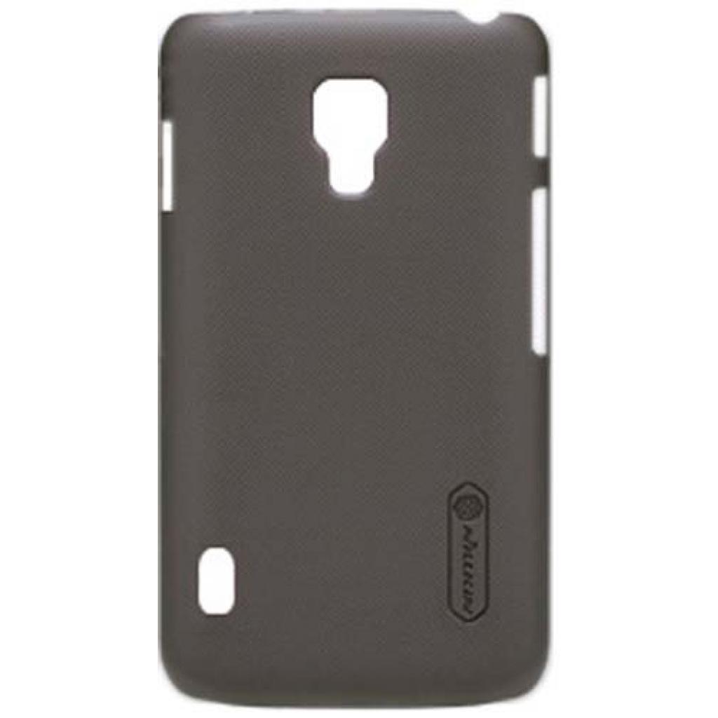 Чехол для моб. телефона NILLKIN для LG P715 L7II Duos /Super Frosted Shield/Brown (6065756)
