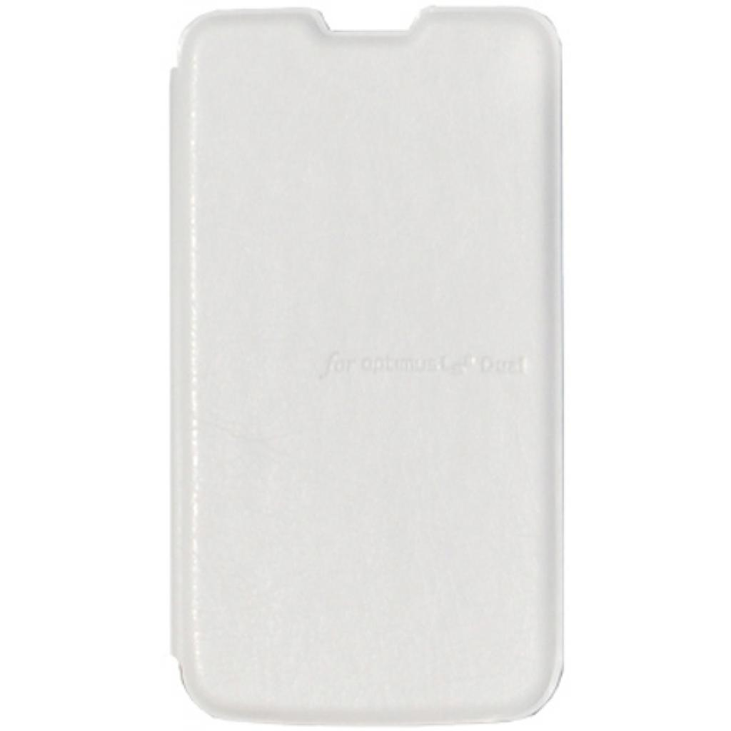 Чехол для моб. телефона VOIA для LG E455 Optimus L5II Dual /Flip/White (6068235) изображение 2