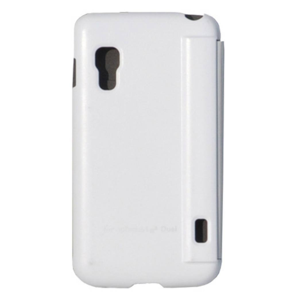 Чехол для моб. телефона VOIA для LG E455 Optimus L5II Dual /Flip/White (6068235) изображение 3