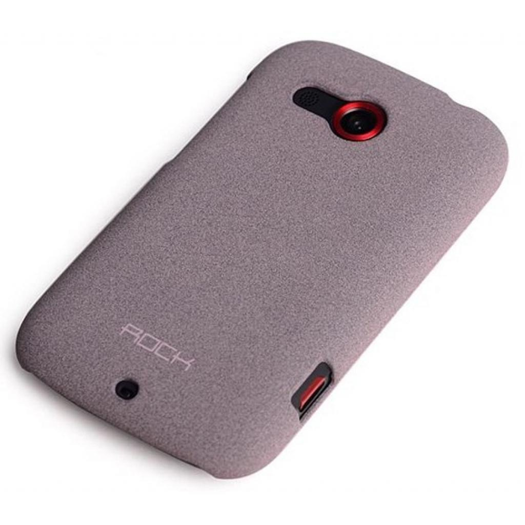 Чехол для моб. телефона Rock HTC desire c quicksand series purple (desire c-35359)